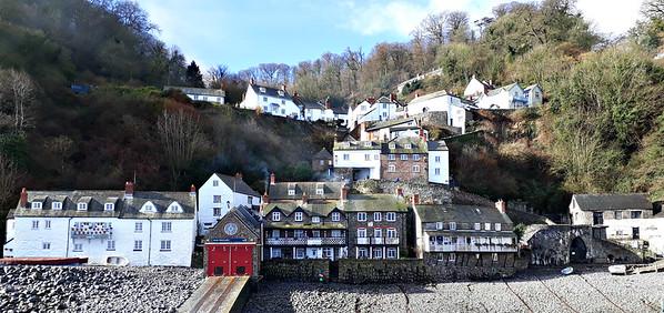 Clovelly - an old fishing village in North Devon