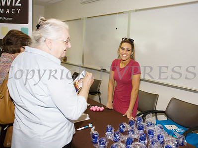 Blimie Mendlowitz of MedWiz Pharmacy was present on Friday, June 15, 2018 for the 10th Annual Hudson Valley World Elder Abuse Awareness Day Conference held at Mount Saint Mary College in Newburgh, NY. Hudson Valley Press/CHUCK STEWART, JR.