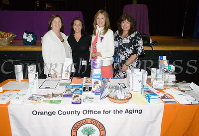 Members of the Orange County Office for the Aging were present on Friday, June 15, 2018 for the 10th Annual Hudson Valley World Elder Abuse Awareness Day Conference held at Mount Saint Mary College in Newburgh, NY. Hudson Valley Press/CHUCK STEWART, JR.