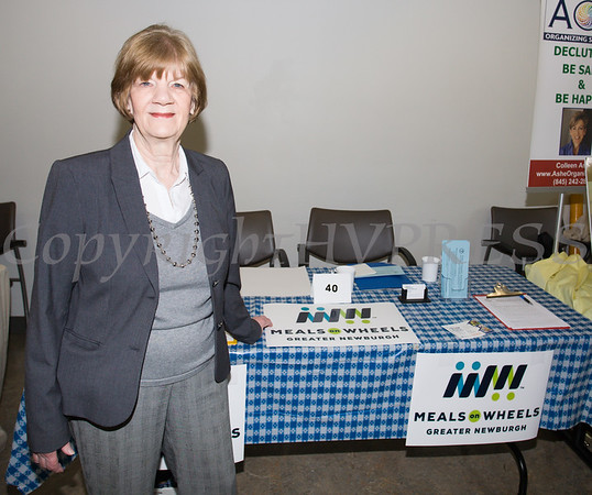 Meals on Wheels of Greater Newburgh President Carole McDermott was present on Friday, June 15, 2018 for the 10th Annual Hudson Valley World Elder Abuse Awareness Day Conference held at Mount Saint Mary College in Newburgh, NY. Hudson Valley Press/CHUCK STEWART, JR.
