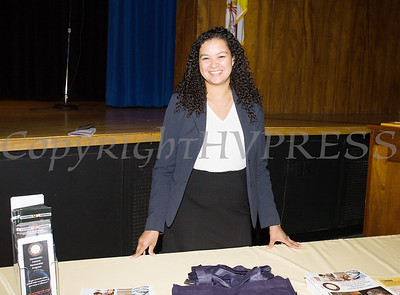 Community Affairs Diretor for Orange County District Attorney's Office Darlene DeJesus was present on Friday, June 15, 2018 for the 10th Annual Hudson Valley World Elder Abuse Awareness Day Conference held at Mount Saint Mary College in Newburgh, NY. Hudson Valley Press/CHUCK STEWART, JR.