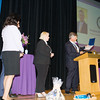 Dana Pavelock, EverCare Vice President Provider Relations Development, presents citations to NYS Senator Sue Serino, Orange County Executive Steven Neuhaus and EverCare President & CEO Sylvia McTigue on Friday, June 15, 2018 at the 10th Annual Hudson Valley World Elder Abuse Awareness Day Conference held at Mount Saint Mary College in Newburgh, NY. Hudson Valley Press/CHUCK STEWART, JR.