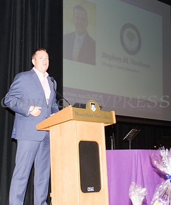 Orange County Executive Steven Neuhaus offers remarks on Friday, June 15, 2018 at the 10th Annual Hudson Valley World Elder Abuse Awareness Day Conference held at Mount Saint Mary College in Newburgh, NY. Hudson Valley Press/CHUCK STEWART, JR.