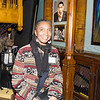 Helen Douglas was one of the artists who were on hand at Saturday's opening for the Howland Cultural Center's 24th Annual African American History Month Art Exhibit. Hudson Valley Press/CHUCK STEWART, JR.