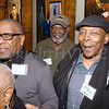 Donald Whitely, Dwight Reed, and Arnold Hayes were some of the artists who were on hand at Saturday's opening for the Howland Cultural Center's 24th Annual African American History Month Art Exhibit. Hudson Valley Press/CHUCK STEWART, JR.