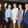 Honoree Jacqueline Hernandez with her family at the Latino Democratic Committee of Orange County Ffifteenth Annual Fall Dinner Dance at Cafe Internationale in Newburgh, NY on Saturday, October 13, 2018. Hudson Valley Press/CHUCK STEWART, JR.