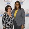 Shannon Wong with New York State Attorney General Candidate Letitia James at the Latino Democratic Committee of Orange County Ffifteenth Annual Fall Dinner Dance at Cafe Internationale in Newburgh, NY on Saturday, October 13, 2018. Hudson Valley Press/CHUCK STEWART, JR.
