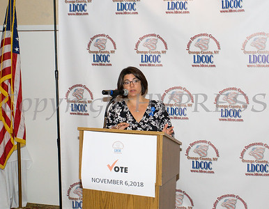 Shannon Wong was the Keynote Speaker for the Latino Democratic Committee of Orange County Ffifteenth Annual Fall Dinner Dance at Cafe Internationale in Newburgh, NY on Saturday, October 13, 2018. Hudson Valley Press/CHUCK STEWART, JR.