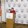 Chair Sonia Ayala offer remarks during the Latino Democratic Committee of Orange County Ffifteenth Annual Fall Dinner Dance at Cafe Internationale in Newburgh, NY on Saturday, October 13, 2018. Hudson Valley Press/CHUCK STEWART, JR.