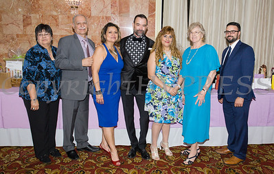 Members of the Board of Latinos Unidos of the Hudson Valley celebrated its 17th Anniversary and its 13th Annual Hispanic Heritage Cultural Celebration at Anthony's Pier 9 in New Windsor, NY on Friday, October 12, 2018. Hudson Valley Press/CHUCK STEWART, JR.