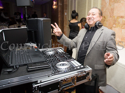 Rene Campos of DMU Music provided the music for Latinos Unidos of the Hudson Valley 13th Annual Hispanic Heritage Cultural Celebration at Anthony's Pier 9 in New Windsor, NY on Friday, October 12, 2018. Hudson Valley Press/CHUCK STEWART, JR.