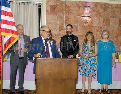 Jose Carrion receives the Hoy Award during Latinos Unidos of the Hudson Valley 13th Annual Hispanic Heritage Cultural Celebration at Anthony's Pier 9 in New Windsor, NY on Friday, October 12, 2018. Hudson Valley Press/CHUCK STEWART, JR.