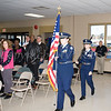 The Newburgh Free Academy ROTC presented the colors as the newly elected members of the Newburgh City Council took the oath of office on Monday, January 1, 2018. Hudson Valley Press/CHUCK STEWART, JR.