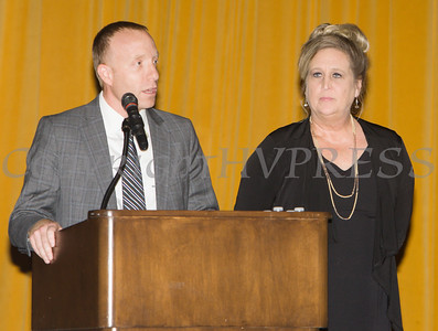 """Monroe-Woodbury Rotary Club recieved the Mildred Warren """"Good-Neighbor"""" Award as Safe Homes of Orange County celebrated its 32nd Anniversary with a Celebration of Hope Gala on Friday, November 2, 2018. Hudson Valley Press/CHUCK STEWART, JR."""
