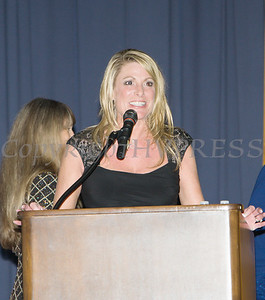 Darci Miller accepts the Family Justice Center Award on behalf of Child Welfare of Orange County and the Department of Social Services during the Celebration of Hope Gala on Friday, November 2, 2018. Hudson Valley Press/CHUCK STEWART, JR.