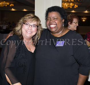 Dr. Michele Winchester-Vega and Melanie Richards pose for a photo as Safe Homes of Orange County celebrated its 32nd Anniversary with a Celebration of Hope Gala on Friday, November 2, 2018. Hudson Valley Press/CHUCK STEWART, JR.