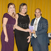 Kellyann Kostyal-Larrier presents Joanna Janik, Safe Homes Risk Reduction Response Program Coordinator and Lt. Joseph Cortez of the City of Newburgh Police Department accepts The Family Justice Center Award from Safe Homes of Orange County as the organization celebrated its 32nd Anniversary with a Celebration of Hope Gala on Friday, November 2, 2018. Hudson Valley Press/CHUCK STEWART, JR.