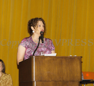 Safe Homes of Orange County Board of Directors Chair Christine Fitzgerald offers welcoming remarks for the Celebration of Hope Gala on Friday, November 2, 2018. Hudson Valley Press/CHUCK STEWART, JR.