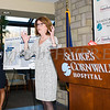 Joan Cusack-McGuirk, St. Luke's Cornwall Hospital President and CEO announced Wednesday, January 31, 2018 that their partnership with Montefiore Health System has been approved by the New York State Health Commissioner. Hudson Valley Press/CHUCK STEWART, JR.