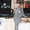Miguel Connell rings the bell during the Lonely Eagles ceremony during the 20th Annual Tuition Assistance Awards Celebration of the Major General Irene Trowell-Harris Chapter of the Tuskegee Airmen, held on Saturday, February 3, 2018 at Anthony's Pier 9 in New Windsor, NY. Hudson Valley Press/CHUCK STEWART, JR.