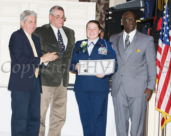 Casey Lynn McKnight was the recipient of the 2018 Bill King Hudson Valley Tuskegee Airmen Edowment Fund Award received during the 20th Annual Tuition Assistance Awards Celebration of the Major General Irene Trowell-Harris Chapter of the Tuskegee Airmen, held on Saturday, February 3, 2018 at Anthony's Pier 9 in New Windsor, NY. Hudson Valley Press/CHUCK STEWART, JR.