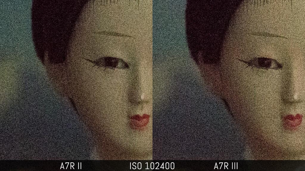 sony a7rii vs a7riii low light comparison