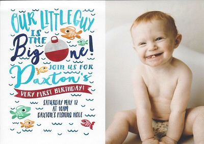 Daxton's 1st Birthday