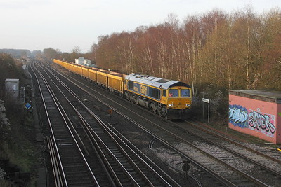 66744 Worting Junction 6M26 Eastleigh to Mountsorrel