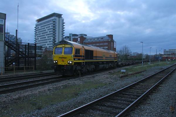 66413 Basingstoke 12/12/18 4M68 Southampton to Daventry