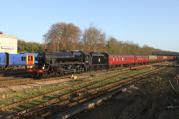 44871 Basingstoke 11/12/18 1Z92 London Victoria to Yeovil Junction