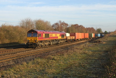 66140 Worting Junction 13/12/18 3F04 Kineton (Fenny Compton) to Marchwood