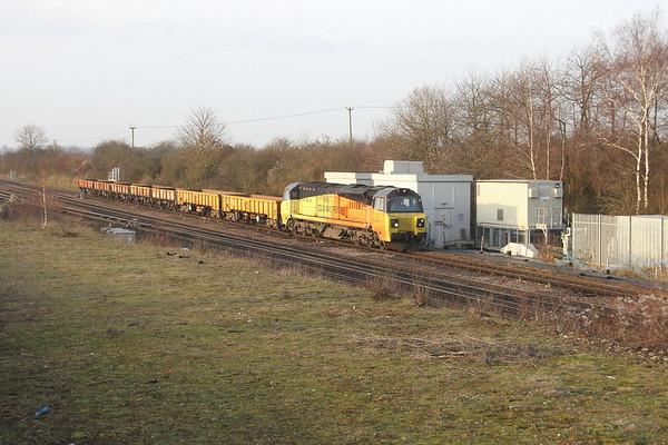 70815 Worting Junction 13/12/18 6X48 Eastleigh to Hoo Junction