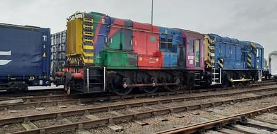 Class08_08682 seen at Derby Litchurch Lane   10/11/18