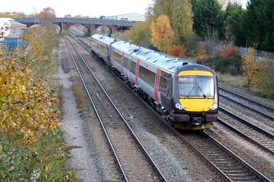 170522/521 1121/1M01 Cardiff-Nottingham pass Burton on Trent   10/11/18