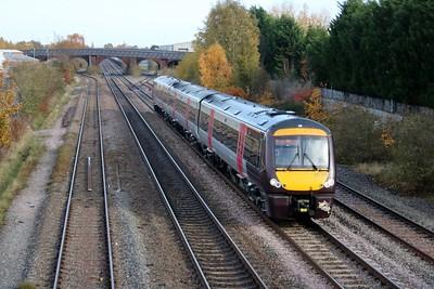 170101 1125/1G22 Nottingham-Birmingham passes Burton on Trent  10/11/18