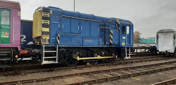 Class08_004 (08602) seen at Derby Litchurch Lane   10/11/18