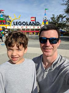Our Legoland adventure begins