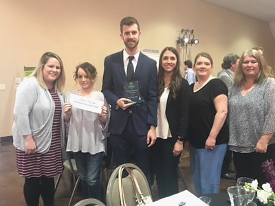 Dr. Gary Jones North Metro Award (Feb. 2018)