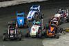East Coast Indoor Dirt Nationals - CURE Insurance Arena - Trenton, NJ - 23m Kenny  Miller III, 20 Alex  Bright, 99 Ronald  Strong