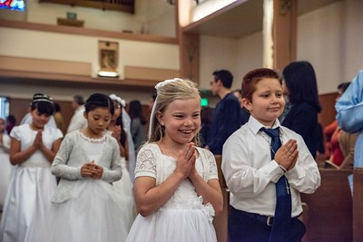 180520 Incarnation Catholic Church 1st Communion-9