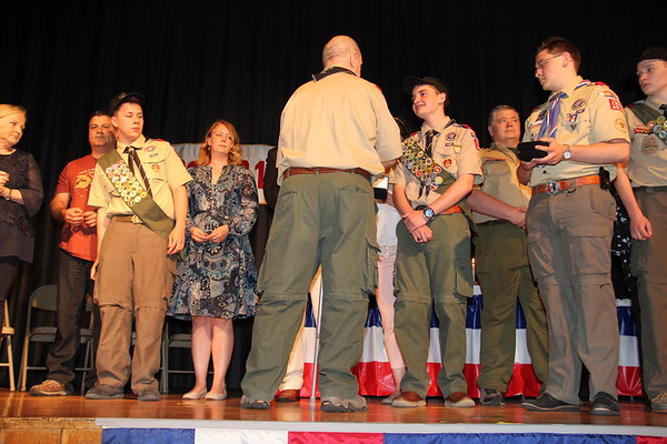 Eagle Scout Ceremony 6.3.2018