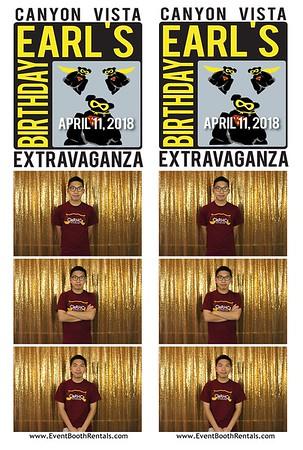 Earl's Birthday Extravaganza