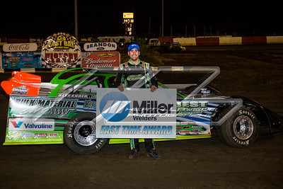Miller Welders Fast Time Award winner Josh Richards