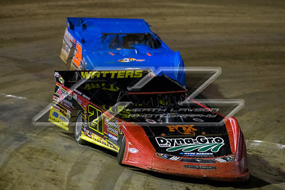 Billy Moyer, Jr. (21JR) and \Dennis Erb, Jr. (28)