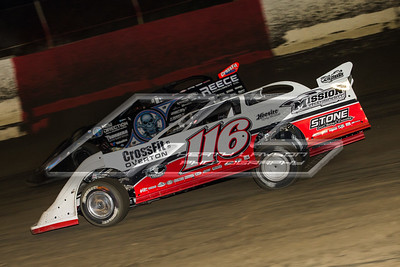 Brandon Overton (116) and Scott Bloomquist (0)