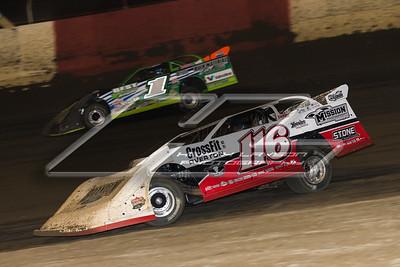 Brandon Overton (116) and Josh Richards (1)