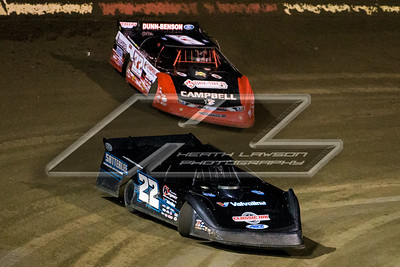 Gregg Satterlee (22) and Bobby Pierce (32)