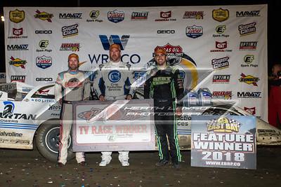 Gregg Satterlee (L), Jonathan Davenport (C) and Josh Richards (R)