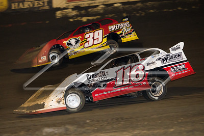 Brandon Overton (116) and Tim McCreadie (39)