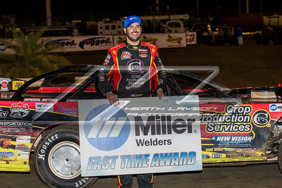 Miller Welders Fast Time Award winner Billy Moyer, Jr.